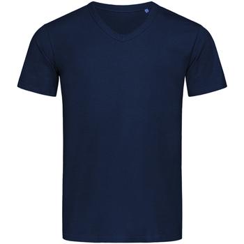 textil Herre T-shirts m. korte ærmer Stedman Stars  Blue