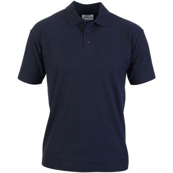 textil Herre Polo-t-shirts m. korte ærmer Absolute Apparel  Navy