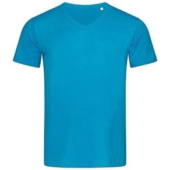 textil Herre T-shirts m. korte ærmer Stedman Stars  Hawaii Blue