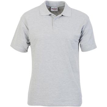 textil Herre Polo-t-shirts m. korte ærmer Absolute Apparel  Sport Grey