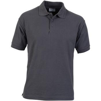 textil Herre Polo-t-shirts m. korte ærmer Absolute Apparel  Convoy Grey