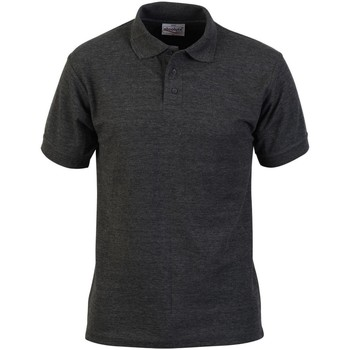 textil Herre Polo-t-shirts m. korte ærmer Absolute Apparel  Charcoal