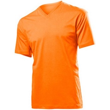 textil Herre T-shirts m. korte ærmer Stedman  Orange
