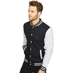 textil Herre Jakker Casual Classics  Navy/Sport Grey
