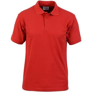 textil Herre Polo-t-shirts m. korte ærmer Absolute Apparel  Red