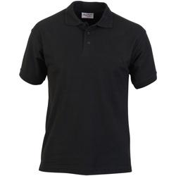 textil Herre Polo-t-shirts m. korte ærmer Absolute Apparel  Black