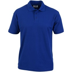 textil Herre Polo-t-shirts m. korte ærmer Absolute Apparel  Royal