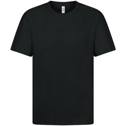 textil Herre T-shirts m. korte ærmer Casual Classics  Black