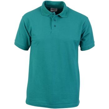 textil Herre Polo-t-shirts m. korte ærmer Absolute Apparel  Emerald