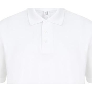 textil Herre Polo-t-shirts m. korte ærmer Casual Classics  White