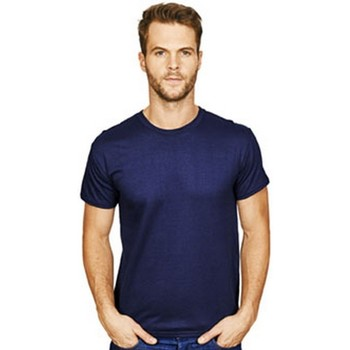 textil Herre T-shirts m. korte ærmer Casual Classics  Navy