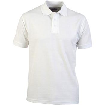 textil Herre Polo-t-shirts m. korte ærmer Absolute Apparel  White
