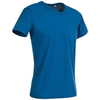 textil Herre T-shirts m. korte ærmer Stedman Stars  King Blue