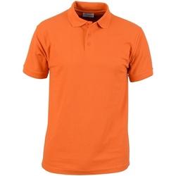 textil Herre Polo-t-shirts m. korte ærmer Absolute Apparel  Orange