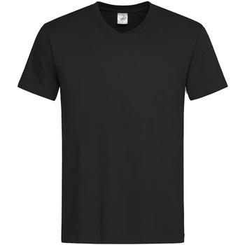 textil Herre T-shirts m. korte ærmer Stedman  Black Opal
