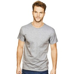 textil Herre T-shirts m. korte ærmer Casual Classics  Heather Grey