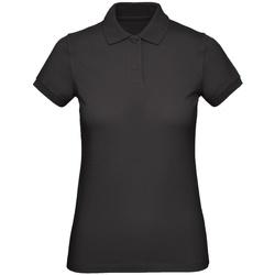 textil Dame Polo-t-shirts m. korte ærmer B And C PW440 Jet Black