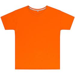 textil Børn T-shirts m. korte ærmer Sg SGTEEK Orange