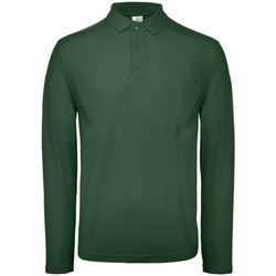 textil Herre Polo-t-shirts m. lange ærmer B And C PUI12 Racing Green