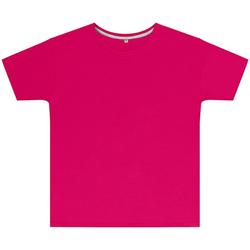 textil Børn T-shirts m. korte ærmer Sg SGTEEK Dark Pink