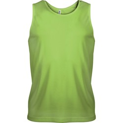textil Herre Toppe / T-shirts uden ærmer Proact Débardeur  Sport vert fluo