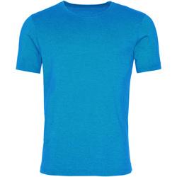 textil Herre T-shirts m. korte ærmer Awdis JT099 Washed Saphire Blue