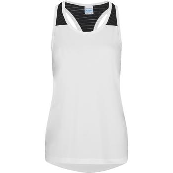 textil Dame Toppe / T-shirts uden ærmer Awdis JC027 Arctic White