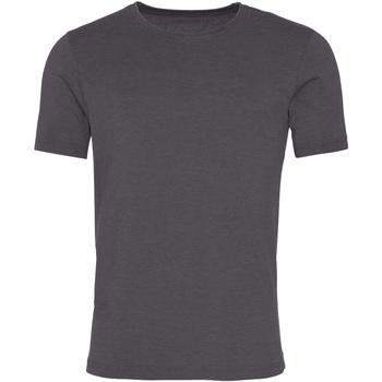 textil Herre T-shirts m. korte ærmer Awdis JT099 Washed Charcoal