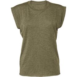 textil Dame T-shirts m. korte ærmer Bella + Canvas BE8804 Heather Olive