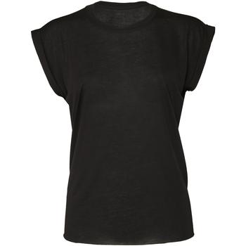 textil Dame T-shirts m. korte ærmer Bella + Canvas BE8804 Black