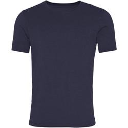 textil Herre T-shirts m. korte ærmer Awdis JT099 Washed New French Navy