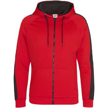 textil Herre Sweatshirts Awdis JH066 Fire Red/Jet Black