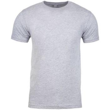 textil T-shirts m. korte ærmer Next Level NX3600 Heather Grey