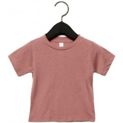 textil Børn T-shirts m. korte ærmer Canvas CA3413T Mauve Triblend