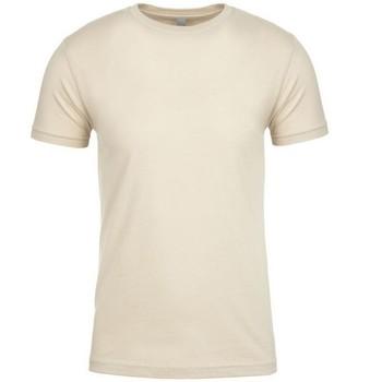 textil T-shirts m. korte ærmer Next Level NX3600 Cream