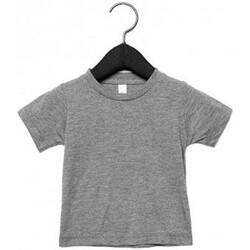 textil Børn T-shirts m. korte ærmer Canvas CA3413T Grey Triblend