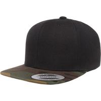 Accessories Kasketter Flexfit YP089 Black/Green Camo