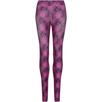 textil Dame Leggings Awdis JC077 Speckled Pink