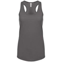 textil Dame Toppe / T-shirts uden ærmer Next Level NX1533 Dark Grey