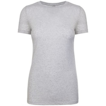 textil Dame T-shirts m. korte ærmer Next Level NX6710 Heather White