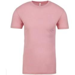 textil T-shirts m. korte ærmer Next Level NX3600 Light Pink