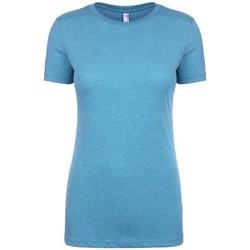 textil Dame T-shirts m. korte ærmer Next Level NX6710 Vintage Turquoise
