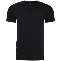 textil Herre T-shirts m. korte ærmer Next Level NX6210 Black
