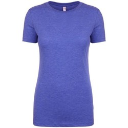textil Dame T-shirts m. korte ærmer Next Level NX6710 Vintage Royal Blue