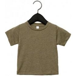 textil Børn T-shirts m. korte ærmer Canvas CA3413T Olive Triblend