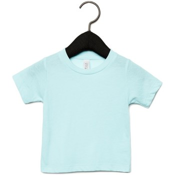 textil Børn T-shirts m. korte ærmer Canvas CA3413T Ice Blue Triblend
