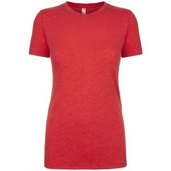textil Dame T-shirts m. korte ærmer Next Level NX6710 Vintage Red