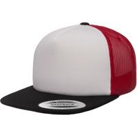 Accessories Kasketter Flexfit F6005FW Black/White/Red