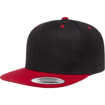 Accessories Kasketter Flexfit F6089MT Black/Red