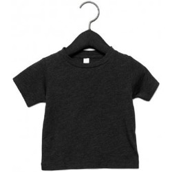 textil Børn T-shirts m. korte ærmer Canvas CA3413T Charcoal Black Triblend